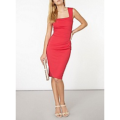Dorothy Perkins - Scarlett b pink lydia bodycon dress
