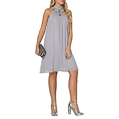 Dorothy Perkins - Showcase grey lucy trapeze shift dress