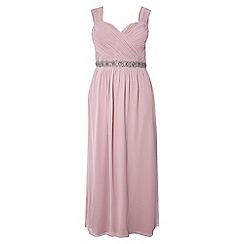 Dorothy Perkins - Showcase curve dusky pink maxi dress