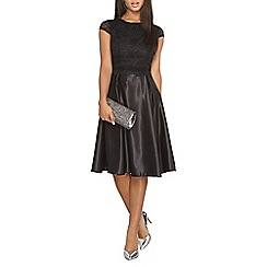 Dorothy Perkins - Luxe black lace prom dress