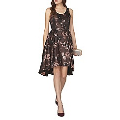 Dorothy Perkins - Luxe rose gold high-low prom midi dress