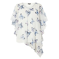 Dorothy Perkins - Dp curve printed overlay top