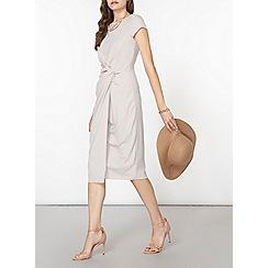 Dorothy Perkins - Luxe grey bodycon dress