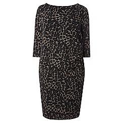 Dorothy Perkins - Billie and blossom curve lepoard bodycon dress
