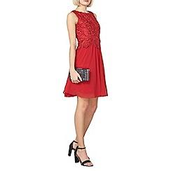 Dorothy Perkins - Showcase red melanie prom dress