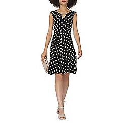 Dorothy Perkins - Spot fit and flare dress