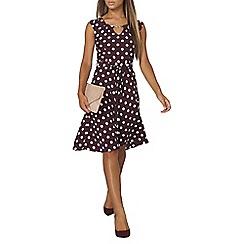 Dorothy Perkins - Billie and blossom spotted viscose dress