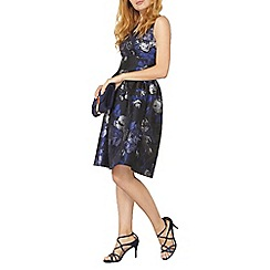 Dorothy Perkins - Luxe blue shadow prom dress