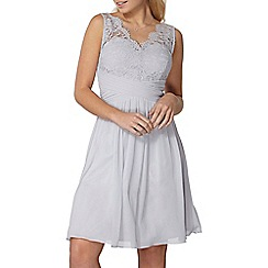 Dorothy Perkins - Showcase grey Josie prom dress