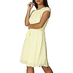 Dorothy Perkins - Billie & blossom lemon dress