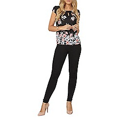 Dorothy Perkins - Billie and blossom pastel floral shell top