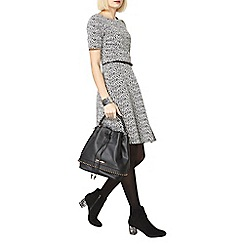 Dorothy Perkins - Black billie and blossom mono rose jacquard dress