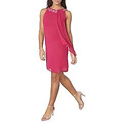 Dorothy Perkins - Billie black pink trapeze dress