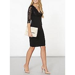 Dorothy Perkins - Black scarlett b chloe bodycon dress