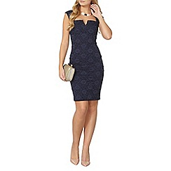 Dorothy Perkins - Scarlett b navy lauren dress