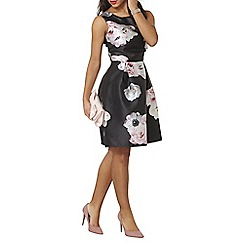 Dorothy Perkins - Luxe rose print prom dress
