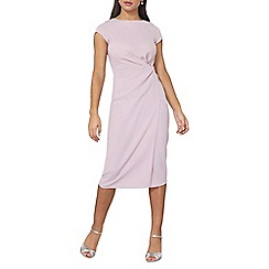 Dorothy Perkins - Luxe pink crepe manipulated dress