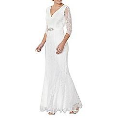 Dorothy Perkins - Off white 'Evangelina' wedding dress