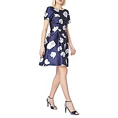Dorothy Perkins - Luxe navy floral prom dress