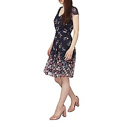 Dorothy Perkins - Billie and blossom petite border floral dress