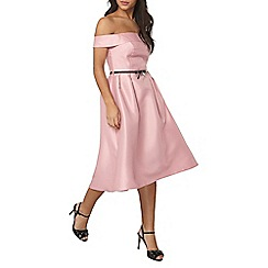 Dorothy Perkins - Luxe pink bardot prom dress