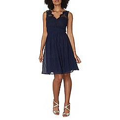 Dorothy Perkins - Showcase navy belle prom dress