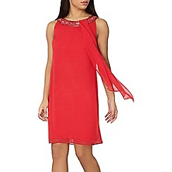 Dorothy Perkins - Billie black label red trapeze dress