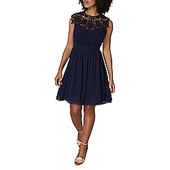 Dorothy Perkins - Showcase navy april prom dress