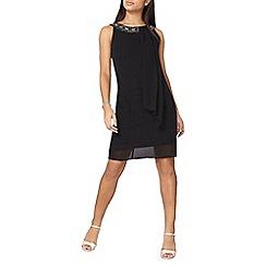 Dorothy Perkins - Billie black label black trapeze dress
