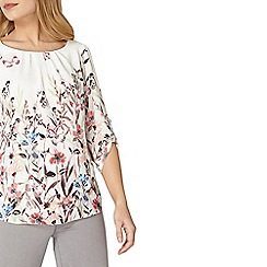 Dorothy Perkins - Billie and Blossom border floral blouse