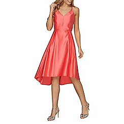 Dorothy Perkins - Luxe coral satin cami dress
