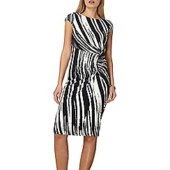 Dorothy Perkins - Lily and franc multi coloured abstract side ruched dress