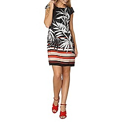 Dorothy Perkins - Bille and blossom floral tropical shift dress