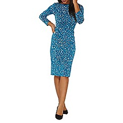 Dorothy Perkins - **Lily & Franc scattered spot twist bodycon dress