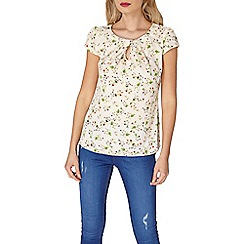 Dorothy Perkins - Billie and Blossom ivory based shell top