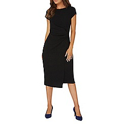 Dorothy Perkins - **Lily & Franc black crepe shift dress
