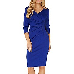 Dorothy Perkins - **Lily & Franc cobalt manipulated bodycon dress