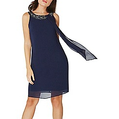 Dorothy Perkins - **Billie & Blossom navy trapeze dress