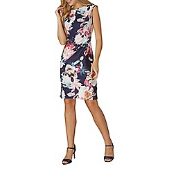 Dorothy Perkins - **Billie & Blossom navy floral bodycon dress