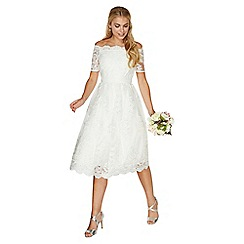 Dorothy Perkins - **ivory 'bella' wedding dress
