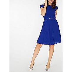 Dorothy Perkins - **billie & blossom cobalt belted skater dress