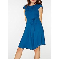 Dorothy Perkins - **billie & blossom teal belted dress