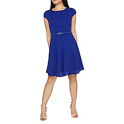 Dorothy Perkins - **billie & blossom petite cobalt skater dress