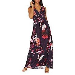 Dorothy Perkins - **Showcase multi coloured floral print maxi dress