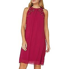Dorothy Perkins - **Showcase raspberry Lily trapeze shift dress