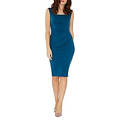 Dorothy Perkins - **Scarlett B peacock blue 'lydia' bodycon dress