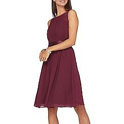 Dorothy Perkins - **showcase tall blackcurrant prom dress