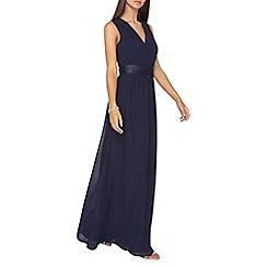 Dorothy Perkins - **showcase tall navy 'holly' maxi dress