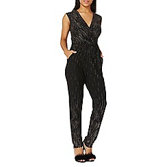 Dorothy Perkins - **billie & blossom black glitter jumpsuit