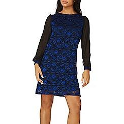 Dorothy Perkins - **Billie & Blossom cobalt sequin lace shift dress
